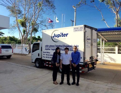 Jupiter now delivers quality to Lao PDR