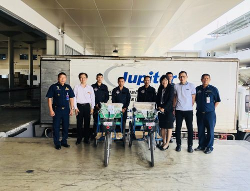 DELIVERY EQUIPMENT TO DISABLED PEOPLE IN PATTANI